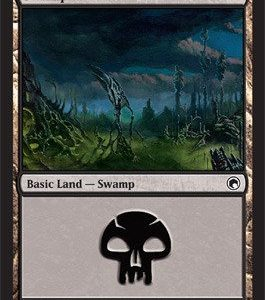 Basic Land – Swamp (#239)