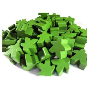 Wooden Meeples GR (50)