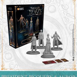 President Picquery & Aurors - English