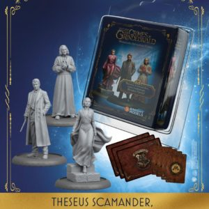 Theseus Scamander, Leta Lestrange, Nicolas Flamel - English
