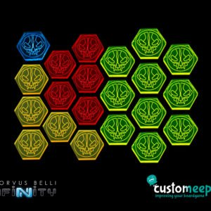 Infinity sectorial order tokens Set (21 units)