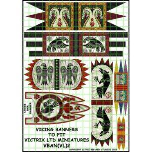 Viking Banner Sheet 2