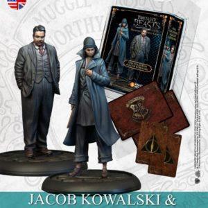 Tina Goldstein & Jacob Kowalski - English