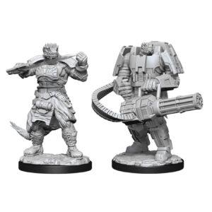 Starfinder: DC: Vesk Soldier W15